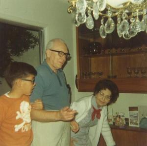 Fred Sr. with Alma